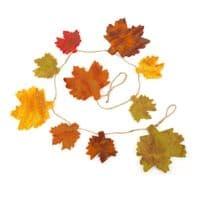 Felt Autumn Leaves String   Home Accessories